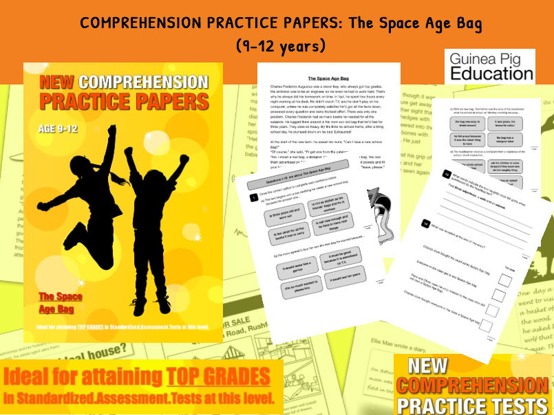Practise SATS Tests (The Space Age Bag) 9-12 years