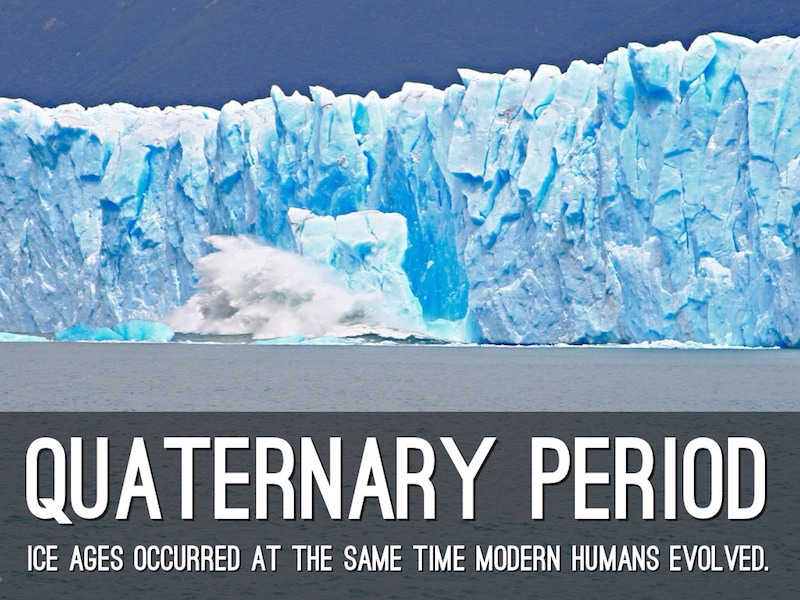 Climate Change 2: understanding the quaternary ice age