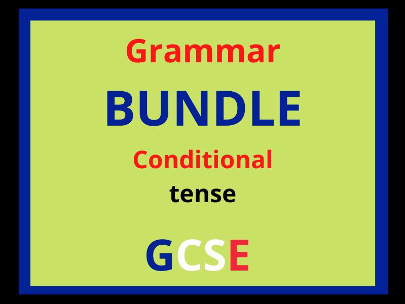 French conditional tense revision (11 sub topics!)