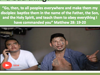 Evangelism - Exploring Evangelism and 12 Mark Q.