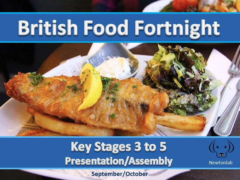 British Food Fortnight - Key Stages 3 to 5