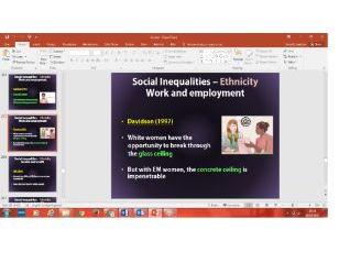 Over 400 slides: Social Inequalities - Gender, Class, Ethnicity