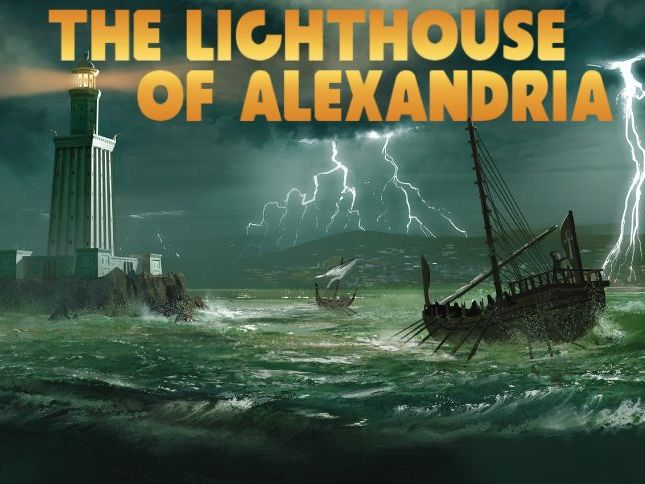 Lighthouse of Alexandria Audiobook & Activity