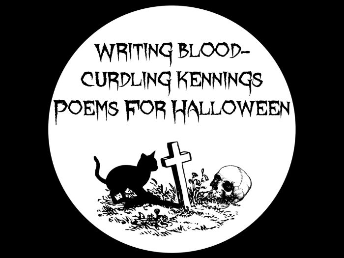 Halloween - PowerPoint Lesson - Writing Blood-Curdling Kennings Poems