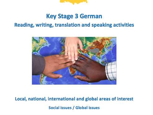 Social and Global Issues - Workbook - German