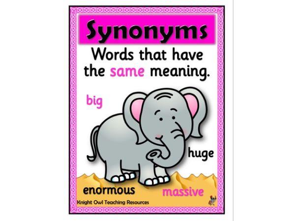 Synonym Poster