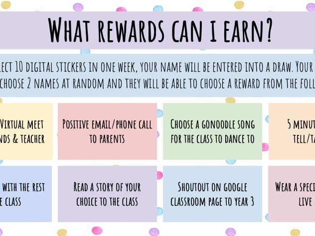Virtual Reward System/Chart