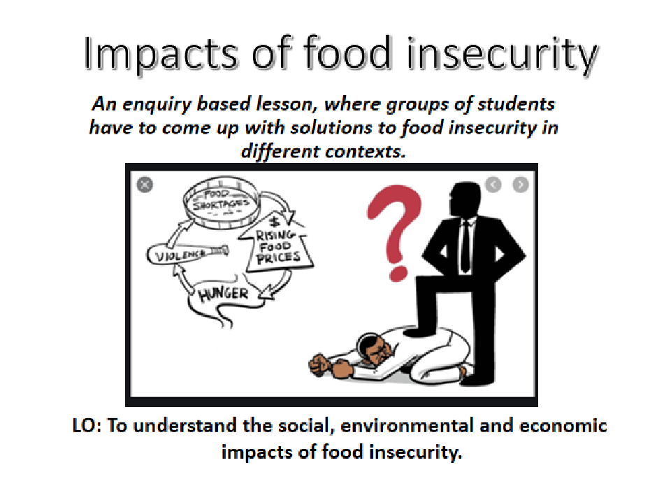 Geography: Food Insecurity Impacts