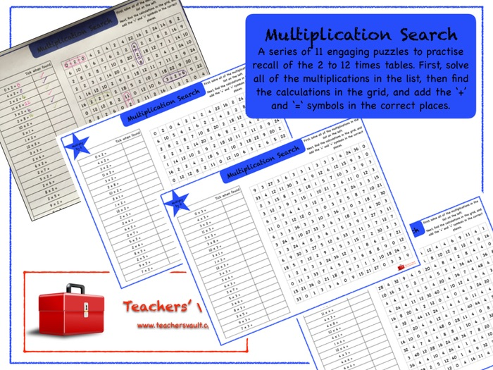 Multiplication Search