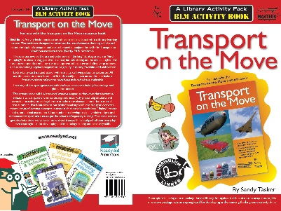 Library Activity Pack: Transport on the Move Activity Book