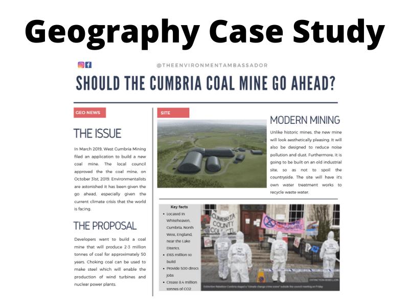 Energy: Cumbria Coal Mine Case Study