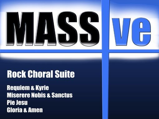 MASSive- A Mass In Rock! (Conductor Score)