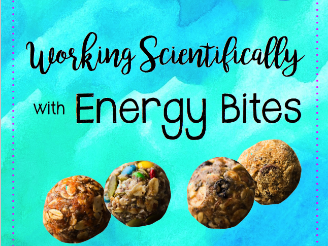 Working Scientifically with Energy Bites for Years 3 & 4