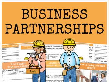Partnerships - Business Ownership - Bundle