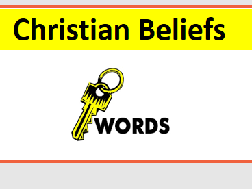 GCSE Edexcel B Christianity Keyword Display Bundle