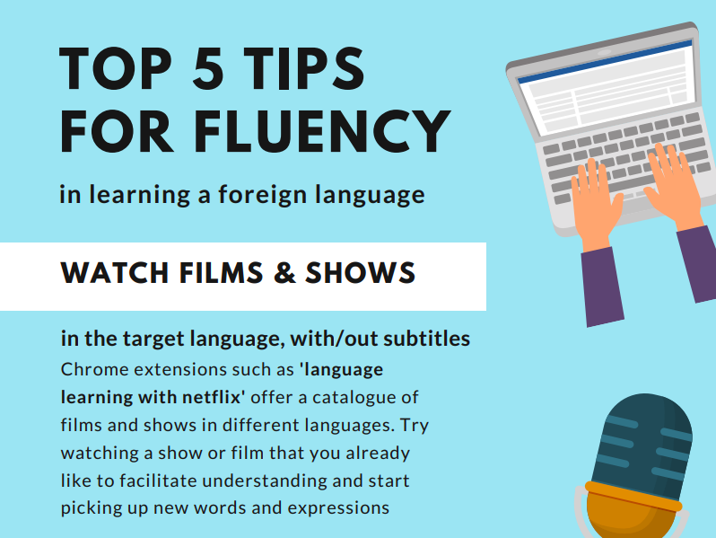 Top 5 Tips for Developing Fluency