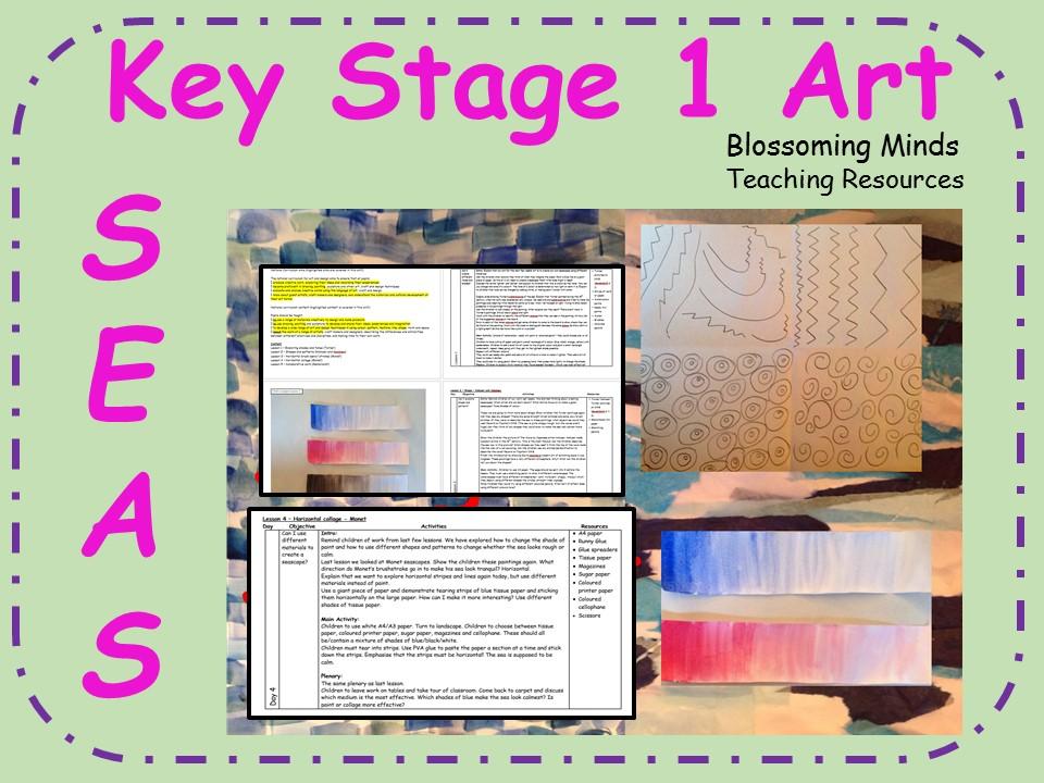 Key Stage 1 Art Plan 5 week Unit
