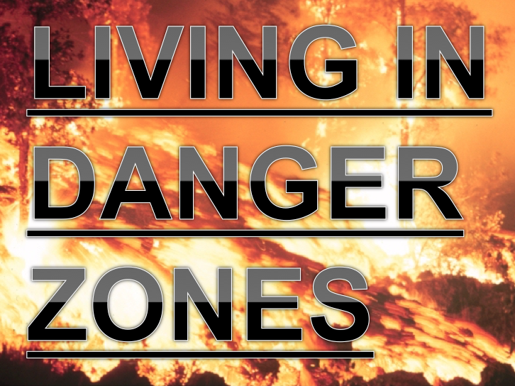 Living in Danger Zones! Volcanoes