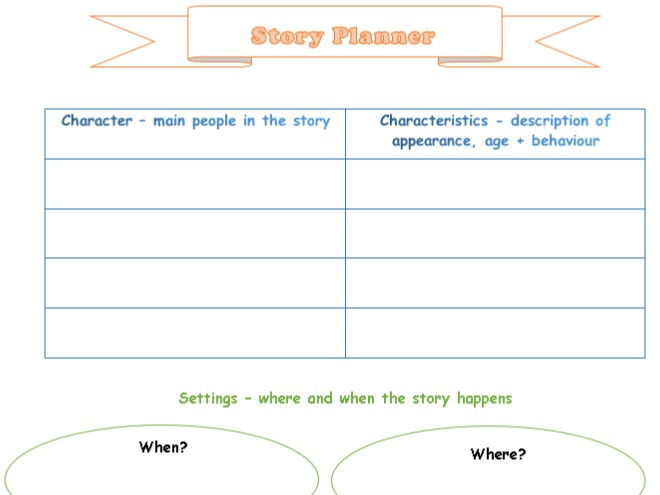 Story Plan about town