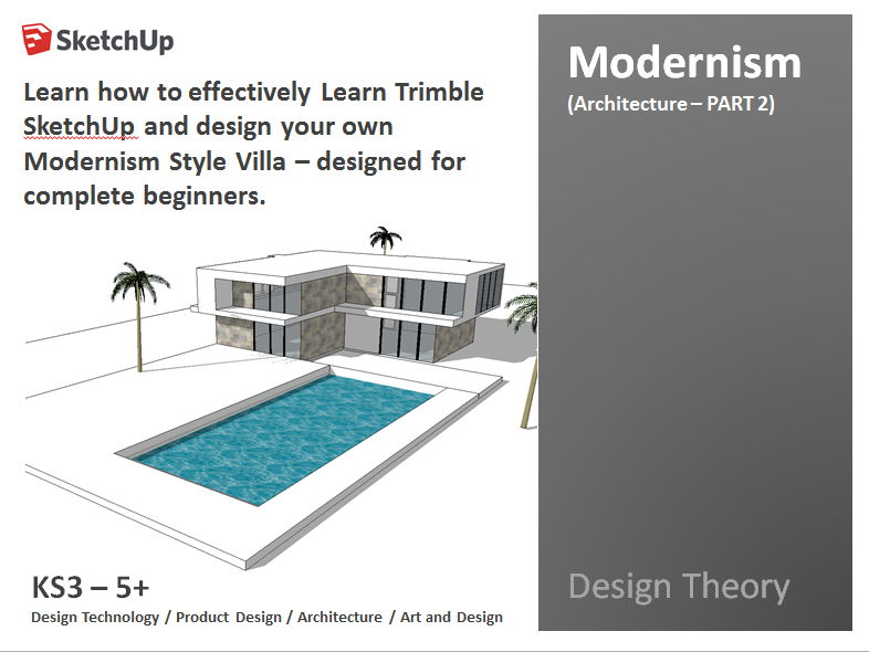 Architecture product design beginners guide to using for Architectural design with sketchup