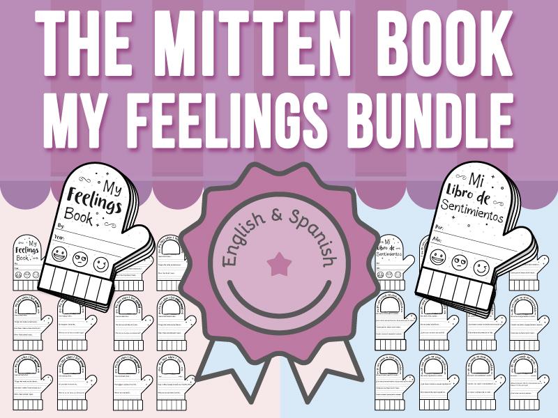 The Mitten Book - My Feelings - BUNDLE