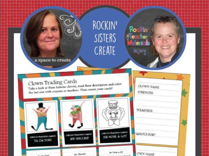 Circus Creativity Workbook - Creative Writing Worksheets and Activities