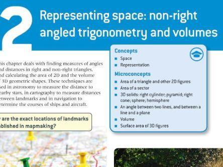 IB Maths Applications and Interpretation SL: Chapter 2 - Representing Space