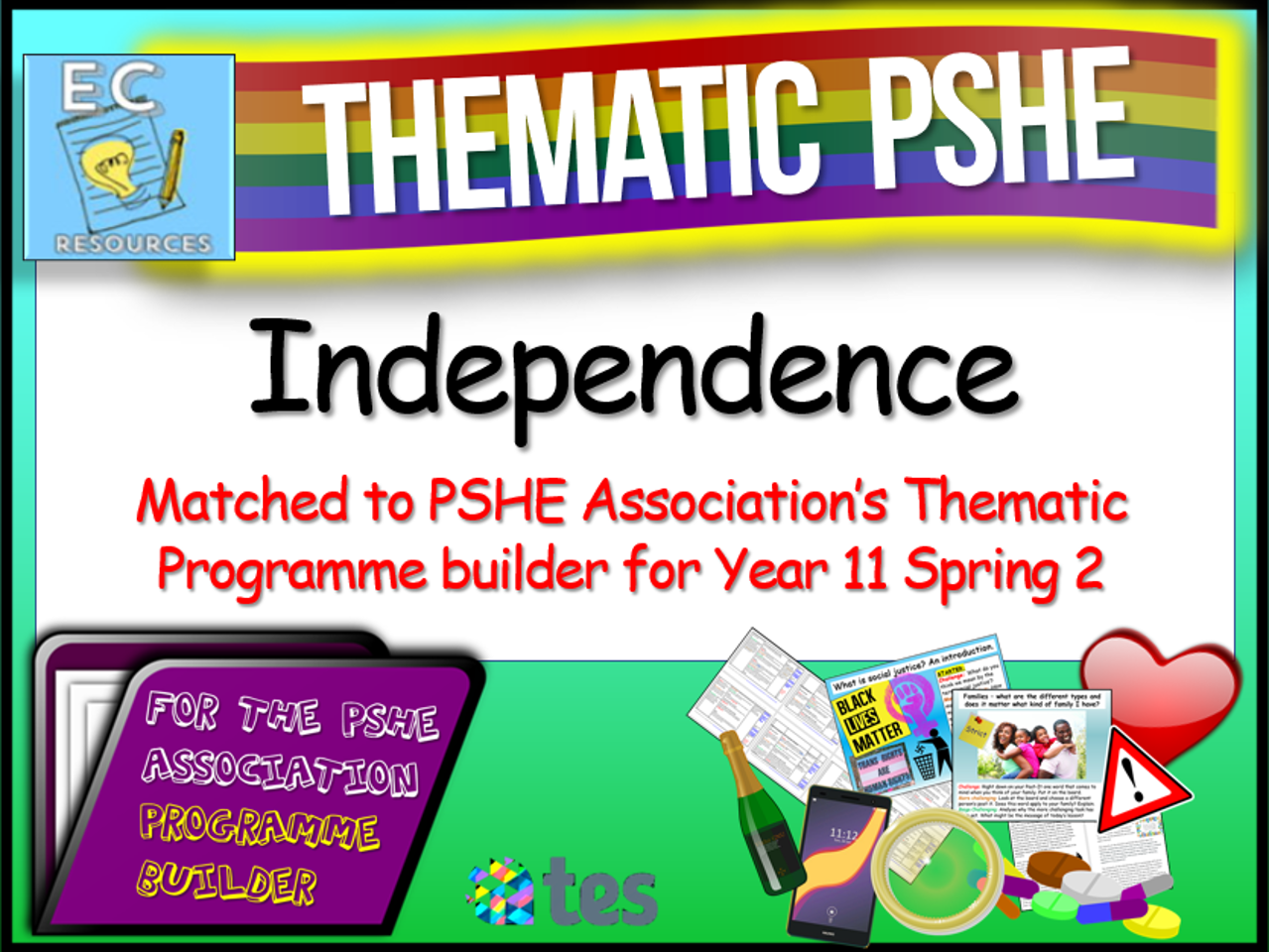 Thematic PSHE Independence