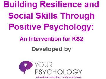 6-week Resilience & Social Skills Intervention Pack (KS2)