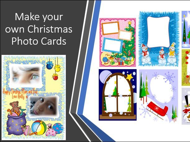 Make your own Christmas Photo Cards