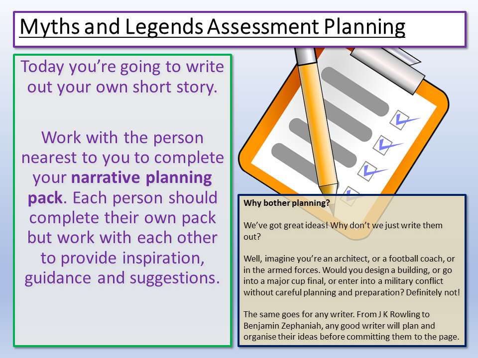 Creative Writing Assessment
