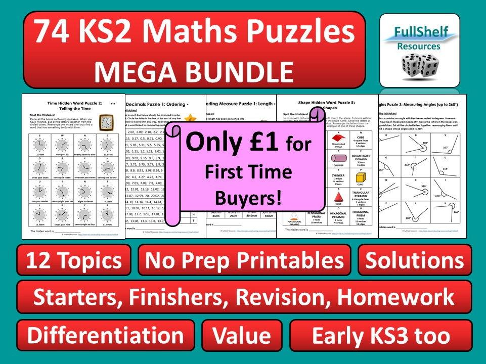 KS2 Maths Activities