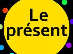 Revision lesson on the present tense. FRENCH VERBS. Whole lesson for  SMARTBOARD.