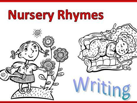 Nursery Rhymes Missing Words Set 2