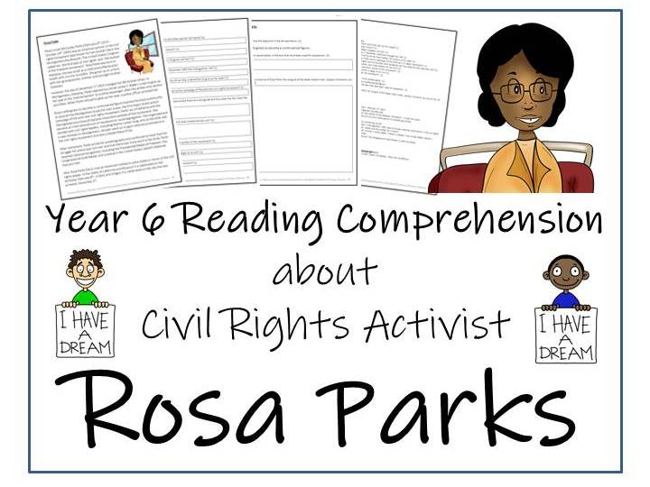 Rosa Parks Reading Comprehension