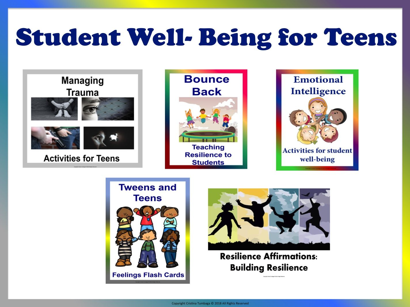 Student Well- Being for Teens Mega Bundle
