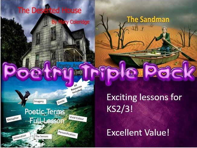 Poetry Triple Pack - Excellent Value