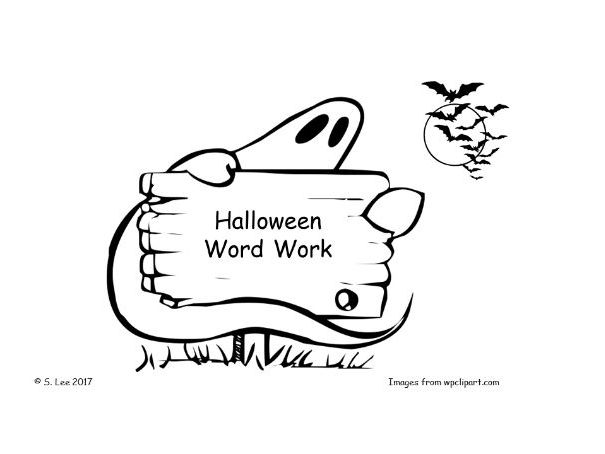 LIteracy resources: Halloween theme