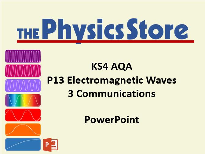KS4 Physics AQA P13 3 Communications PowerPoint