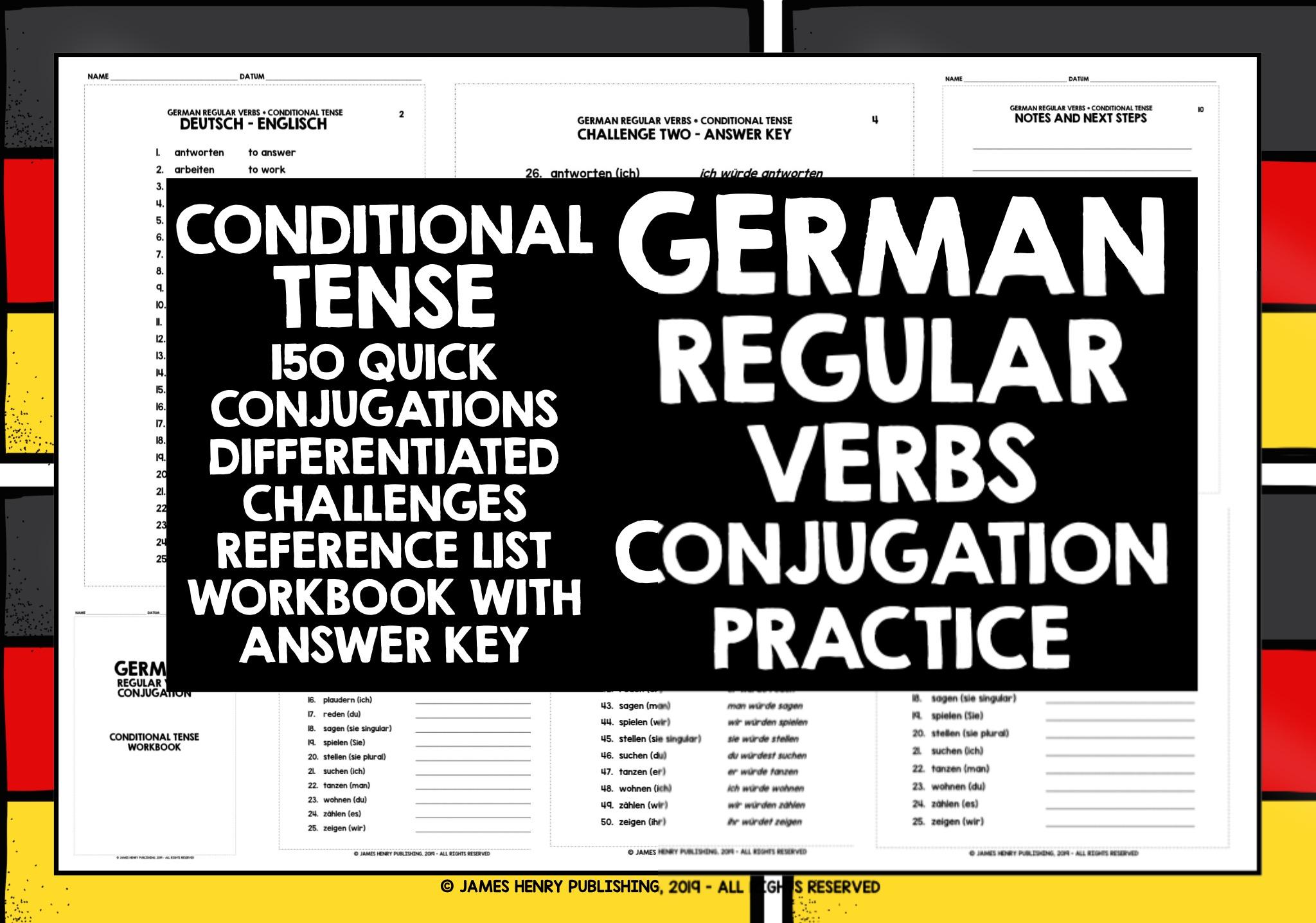 The present tense of German verbs - The German Professor