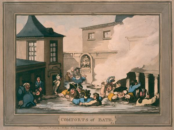 City of Bath World Heritage Site 18th Century Society - Cartoons and Caricatures