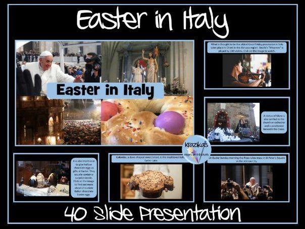Easter in Italy/Pasqua/Settimana Santa
