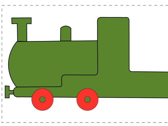 FREE SAMPLE Numeracy Train: number, counting, sequencing, EYFS, 1-5