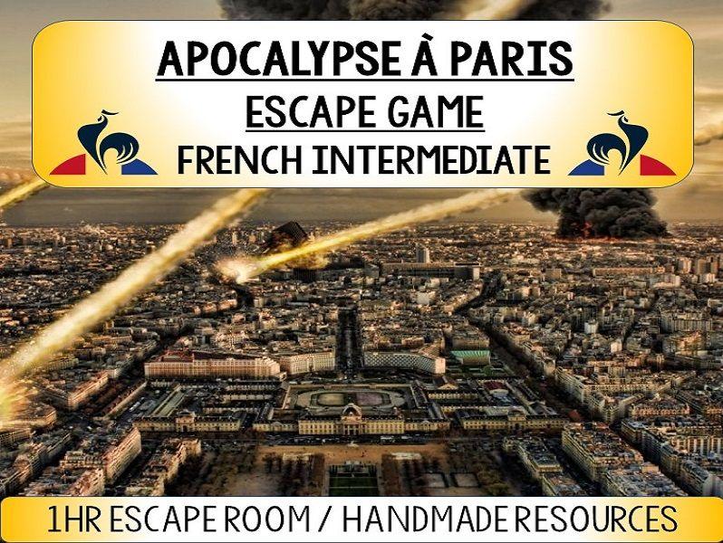 APOCALYPSE A PARIS - Ma Ville / Present Tense - Game French Escape Room