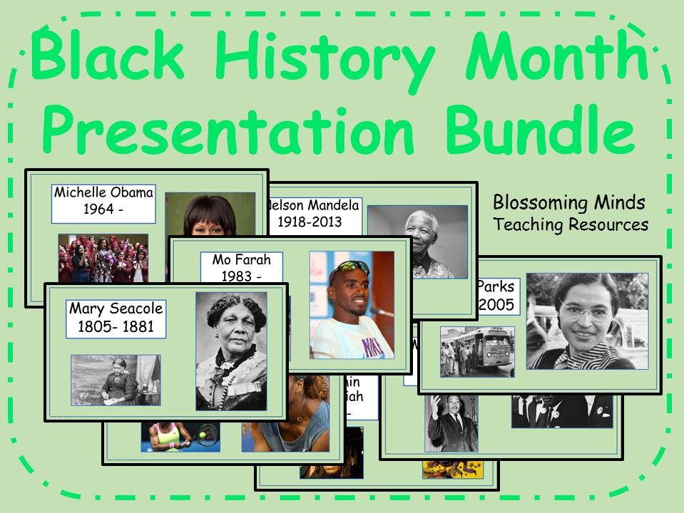 Black History Month Presentation Bundle