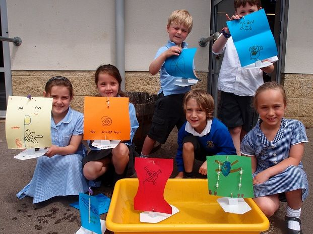 Make a sailboat - Materials & Forces KS1/2