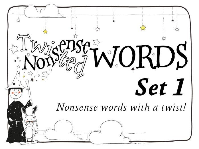 Phonics Screening: Twisted Nonsense Words Set 1