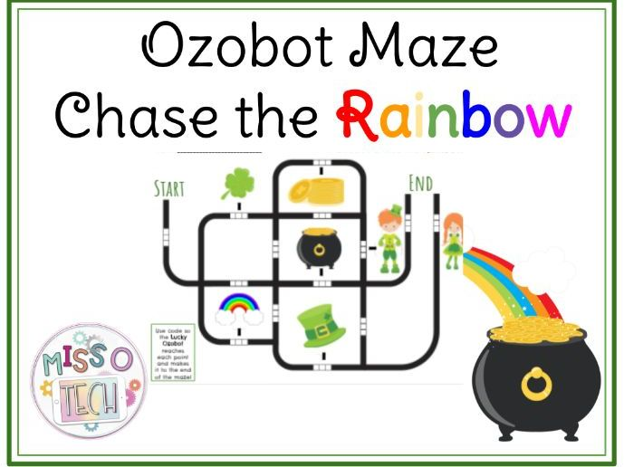 Ozobot March Maze