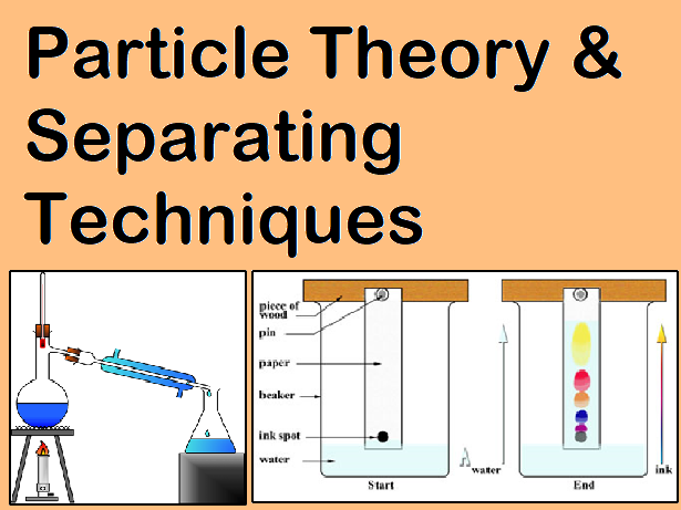 Particle Theory and Separation Techniques (7 lessons)
