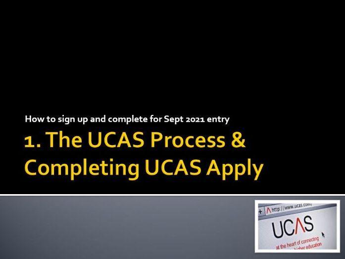 UCAS Personal Statement Session 1 Intro